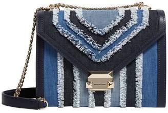 MICHAEL Michael Kors Denim Whitney Shoulder Bag