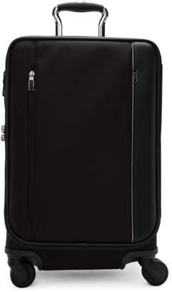 Tumi Black International Dual Access 4 Wheeled Carry-On Suitcase