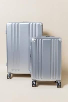 francesca's CALPAK Ambeur 2 Piece Luggage Set - Silver