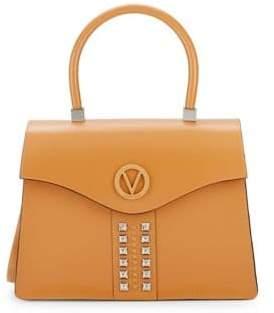 Anais Leather Top Handle Bag