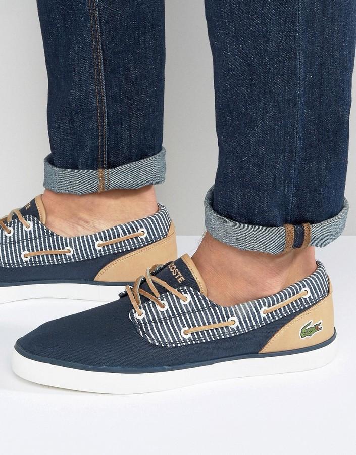 LacosteLacoste Jouer Deck Boat Shoes
