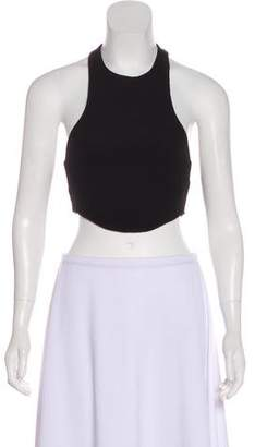 Are You Am I Sleeveless Crop Top