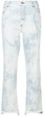 Each X Other bleached cropped jeans