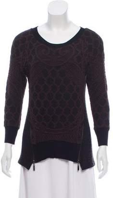 Alberto Makali Patterned Knit Sweater