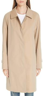 Burberry Camden Cotton Car Coat