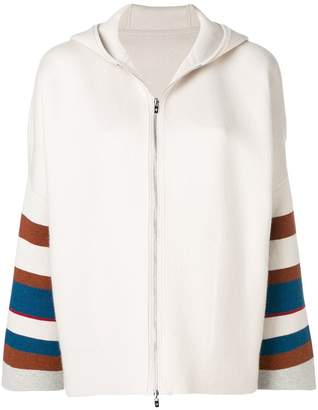Loro Piana hooded zipped cardigan