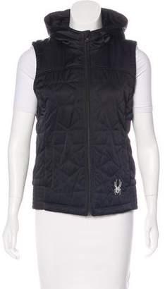 Spyder Puffer Zip-Up Vest