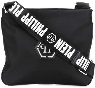 Philipp Plein logo strap shoulder bag