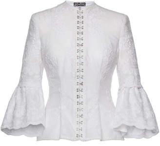 Lena Hoschek Innocence Cotton Button Up Blouse