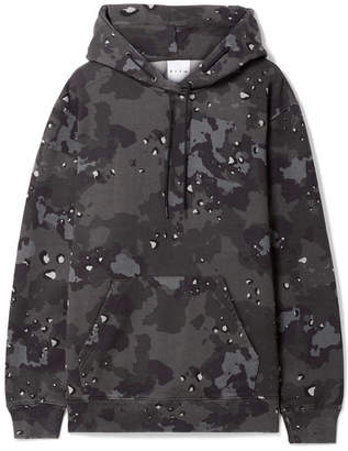 Kith - Leigh Camouflage-print Cotton-jersey Hoodie - Gray