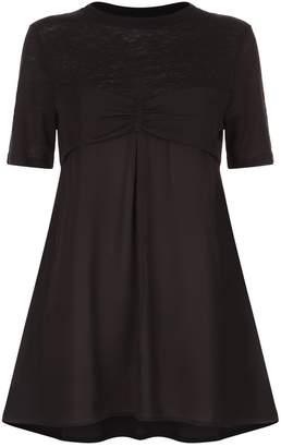 Claudie Pierlot Ruched Bodice T-Shirt