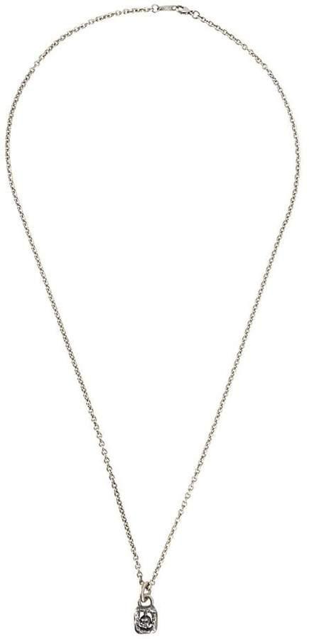 Tobias Wistisen framed skull necklace