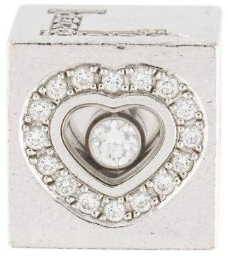 Chopard 18K Diamond Love Cube Pendant