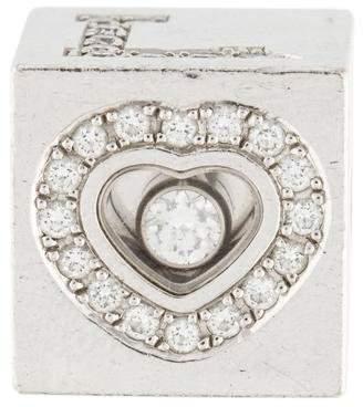 Chopard 18K Diamond Love Cube Pendant