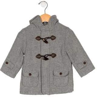 Mayoral Boys' Hooded Wool-Blend Coat