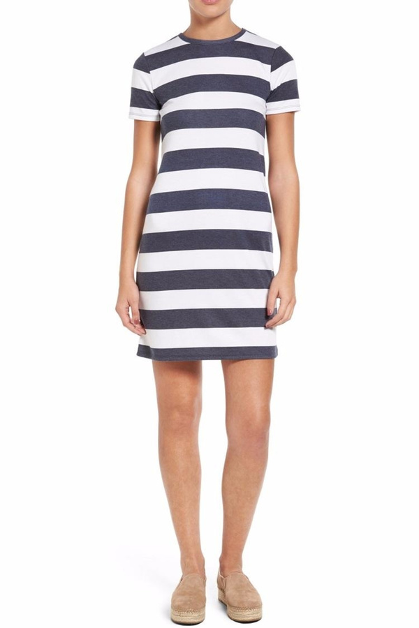 Plus Size Wedding Dresses Rugby : Michael kors striped rugby dress style