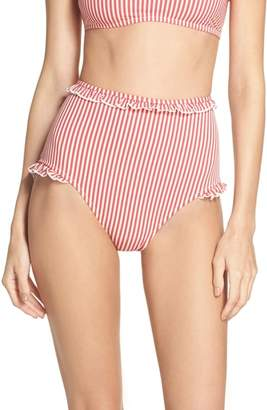 Solid & Striped The Leslie High Waist Bikini Bottoms