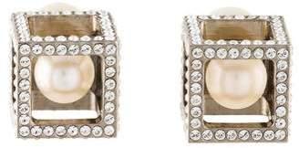 Vita Fede Pearl & Crystal Boxed Earrings