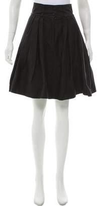 Preen Line Pleated Knee-Length Skirt