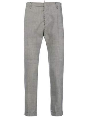 DSQUARED2 houndstooth print trousers