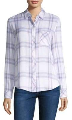 Rails Lavender Hunter Plaid Shirt