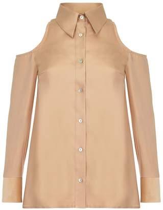 RAAB - San Gold Cold Shoulder Shirt