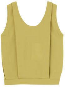 ELIN/Pleated sleeveless Top