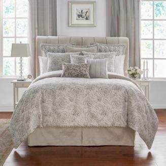 Waterford Sophia Floral Jacquard Comforter Set, California King