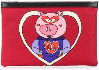 Dolce & Gabbana Super Pig document holder