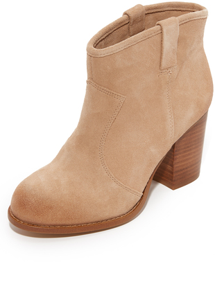 Splendid Suede Booties $108 thestylecure.com