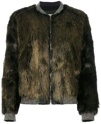 Yves Salomon Four Castor jacket