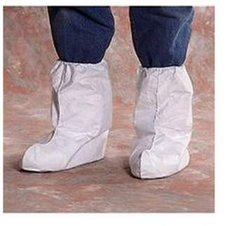 "Lakeland Industries Ai 14457 Cover Tyvek Boot 18"" Elastic & Skid Resistant 10PK"