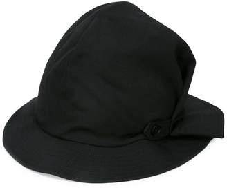 Yohji Yamamoto side tuck detail hat