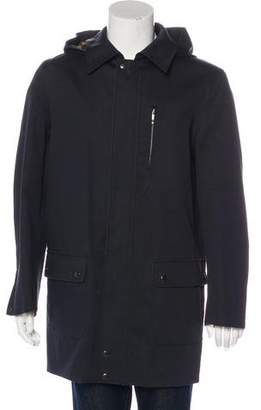 Louis Vuitton Damier-Lined Layered Parka
