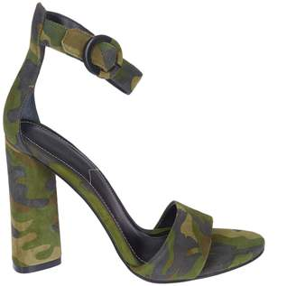 KENDALL + KYLIE Camouflage Sandals
