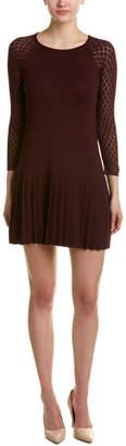 Shoshanna Wool-Blend Shift Dress