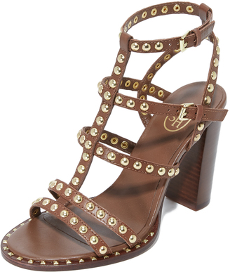 Ash Amazing Studded Sandals $225 thestylecure.com