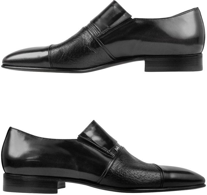 Moreschi Lugano - Black Leather Loafer