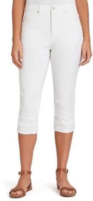 Gloria Vanderbilt Women's Amanda Embellished Capri Jeans
