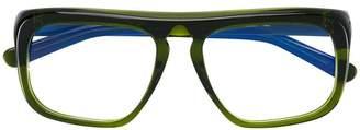 Marni Eyewear oversized square glasses