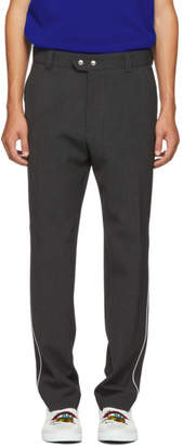 Kenzo Grey Side Piping Trousers