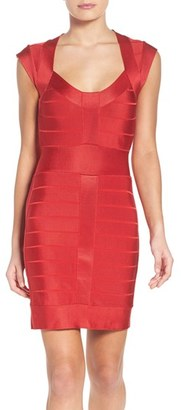 French Connection Spotlight Bandage Dress $188 thestylecure.com