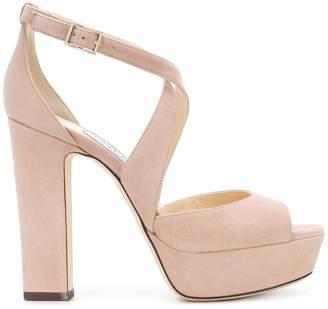 Jimmy Choo April 120 sandals