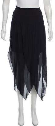 Ramy Brook Lucy Two-Way Silk Skirt w/ Tags