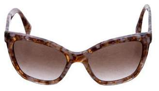 Prada Square Gradient Sunglasses