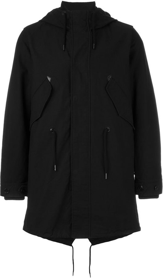 Hooded Duffle Coat Men - ShopStyle Australia