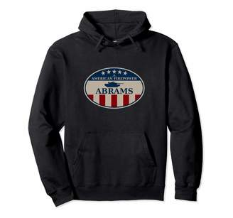Abrams M1 & Us Tank Gifts M1 Pullover Hoodie