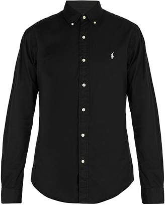 Polo Ralph Lauren Logo embroidered cotton pique shirt