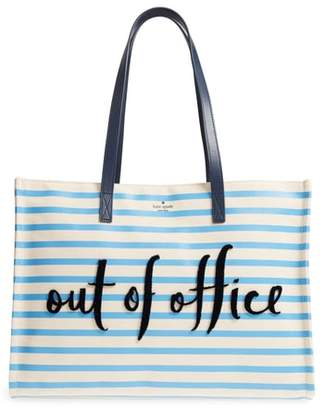 Kate Spade California Dreaming - Out Of Office Canvas Tote