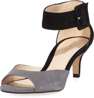 374707be19f Pelle Moda Kitten Heel Women s Sandals - ShopStyle